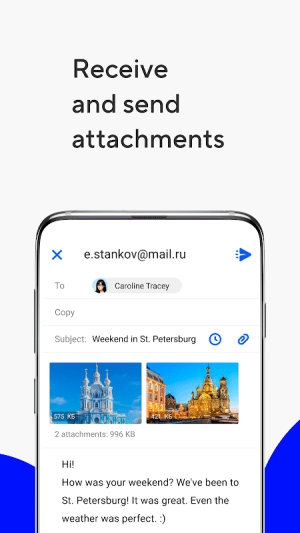 Mail.ru - Email App 13.12.0.33176 Screen 4