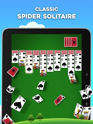 Android Spider Solitaire Screen 4