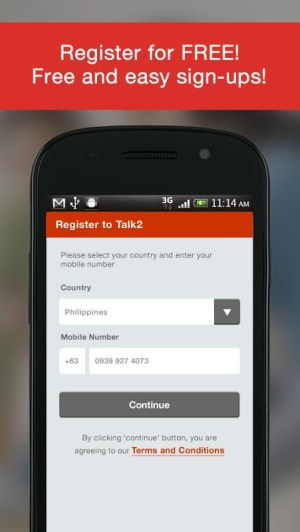 Talk2: FREE SMS 3.0.17-release Screen 4