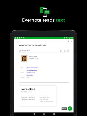 Evernote - stay organized. 8.12.5 Screen 12