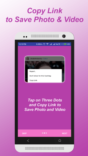 Saver for Instgram – Photo & video download 1.6 Screen 2
