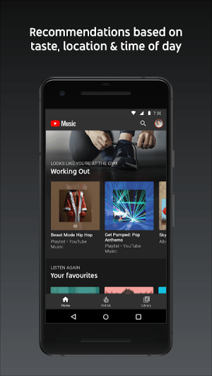 Android YouTube Music - stream music and play videos Screen 12
