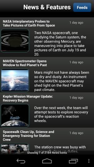 NASA App 1.43 Screen 14