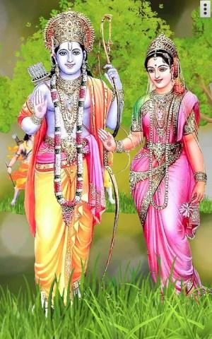 4D Shri Rama (श्री राम दरबार) Live Wallpaper 9.0 Screen 2