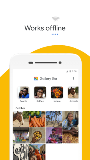 Gallery Go by Google Photos 1.6.0.344748829 release Screen 4