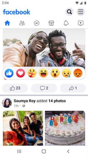 Facebook Lite 257.0.0.13.171 Screen 4