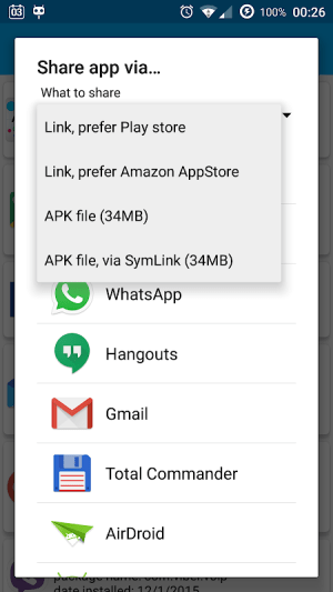 App Manager 4.78 Screen 1