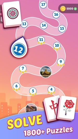 Mahjong Tours: Free Puzzles Matching Game 1.59.5111 Screen 1