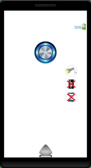 Android Pulsar 3 in 1 Flashlight Screen 15