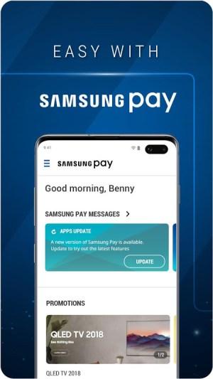 Samsung Pay 1.3.0 (29) Screen 1