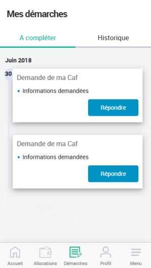 Caf - Mon Compte 2.1.0 Screen 5