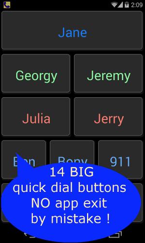 Launcher, Seniors Phone 1.14 Screen 7