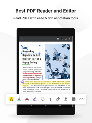 Android PDF Reader Pro - Annotate, Edit, Fill Forms & Sign Screen 14