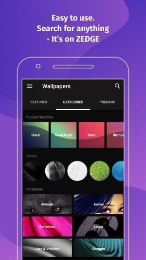 Android ZEDGE™ Wallpapers & Ringtones Screen 5