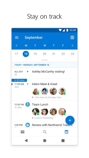 Microsoft Outlook 4.2114.2 Screen 5
