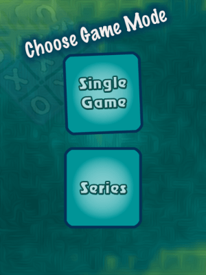 Android Tic Tac Toe Puzzle Screen 1