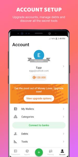 Money Lover 4.0.8.2020021803c Screen 3