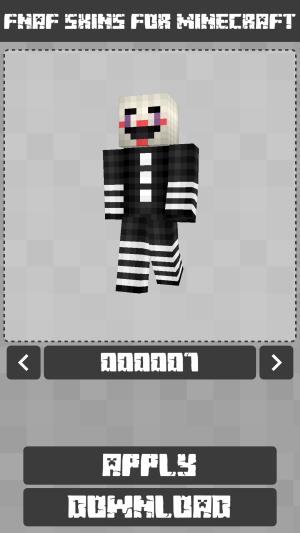 FNAF Skins for Minecraft PE 1.1.0.005 Screen 6