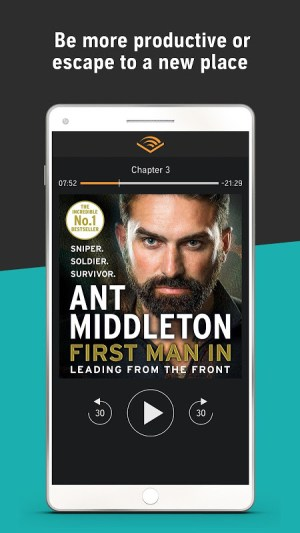 Audiobooks from Audible 2.26.0 Screen 7