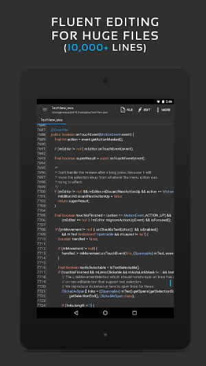 QuickEdit Text Editor Pro - Writer & Code Editor 1.5.1 Screen 14