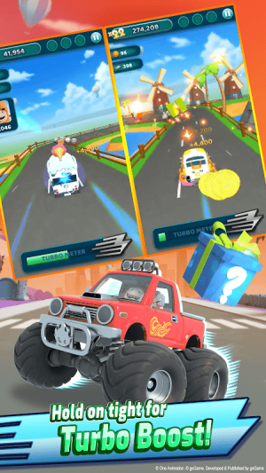Android Oddbods Turbo Run Screen 9