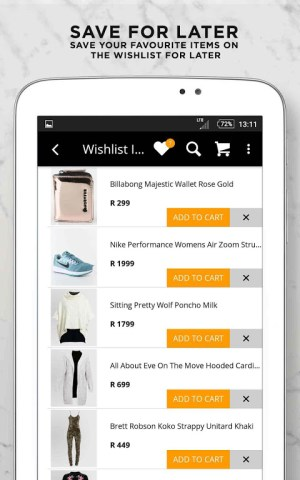 Online Fashion Shopping Zando 1.4.1 Screen 20