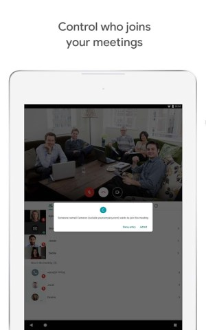 Google Meet – Secure video meetings 2021.04.18.369492438.Release Screen 7