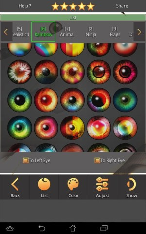 Change your hair, change your eyes, change your style, change your life 1.3.7 Screen 7