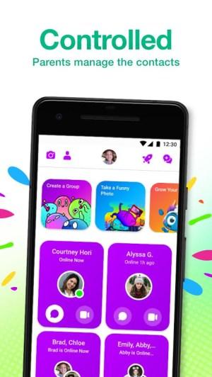 Messenger Kids – The Messaging App for Kids 160.0.0.10.117 Screen 4