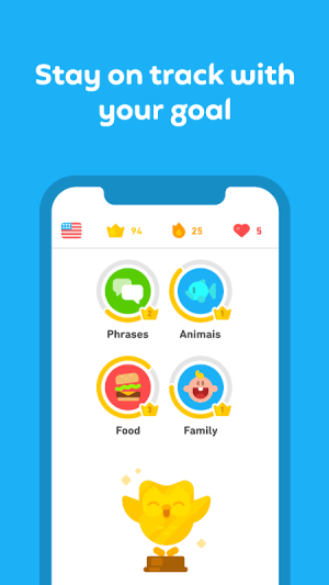 Android Duolingo: Learn Languages Free Screen 2