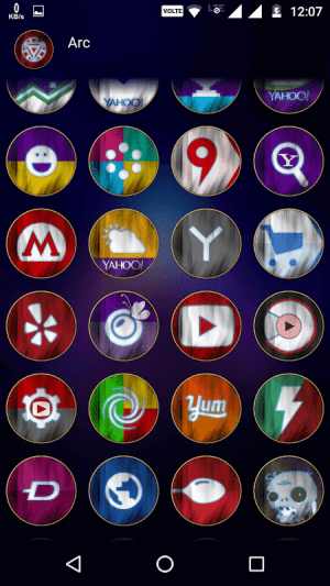 Arc - Icon Pack 4.5 Screen 7