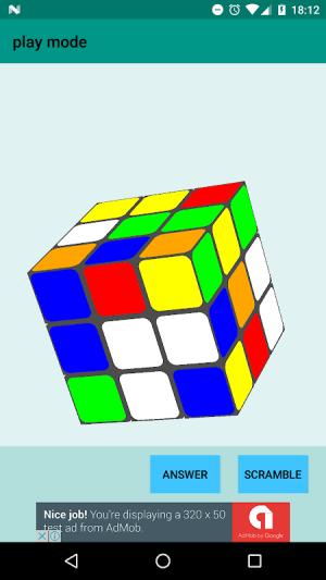 Easy Cube Solver 1.7 Screen 4