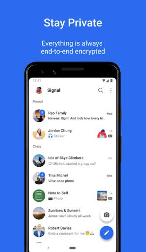 Signal Private Messenger 5.23.7 Screen 2