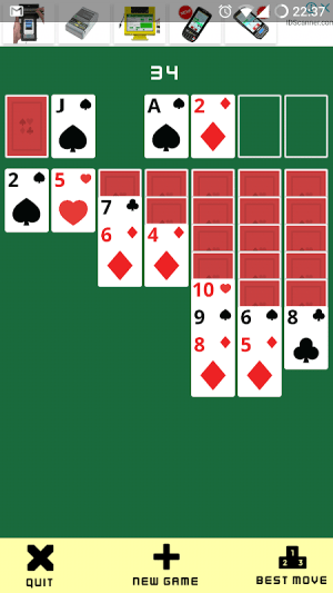 Solitaire Klondike: Play Solitaire Card Game Free 18.03.11 Screen 1