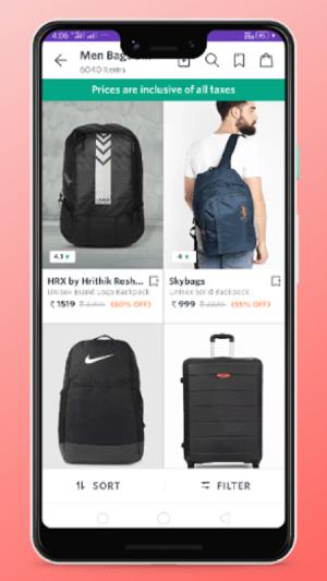 men bags shopping 4.0 Screen 2