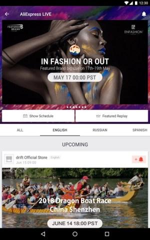 Android AliExpress - Smarter Shopping, Better Living Screen 7