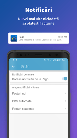 Pago 1.8.2 Screen 3