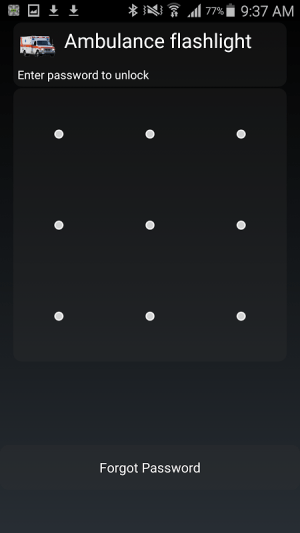 Android AppLock Screen 3