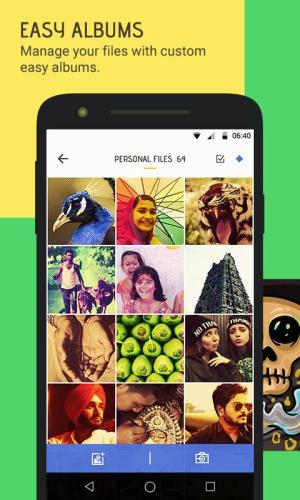 Android Skullock Photo vault: Lock private photos & videos Screen 2