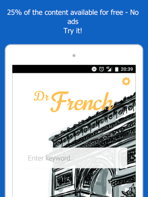 Dr French, French grammar 1.0.10 Screen 12