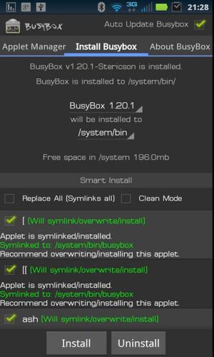 BusyBox 63 Screen 3