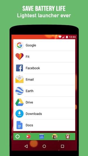 KISS Launcher 3.5.3 Screen 1