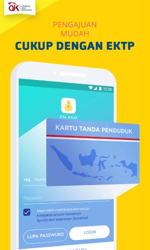 KTA KILAT - Pinjaman Uang Kilat 3.6.2 Screen 1