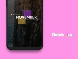 Rainbow Kwgt 3.2 Screen 1