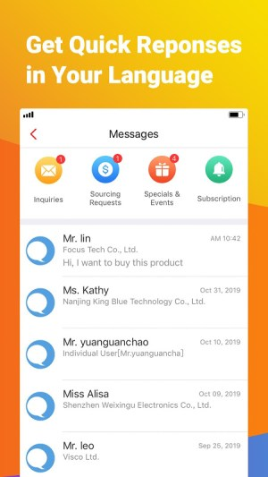 Made-in-China.com - Online B2B Trade App for Buyer 4.10.01 Screen 6