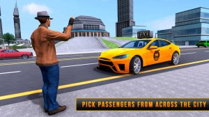 Taxi Driver Rush: Extreme City Pro Driving 1.0 Screen 2