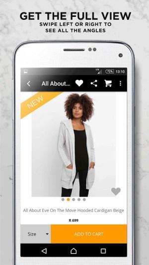 Online Fashion Shopping Zando 1.4.1 Screen 2