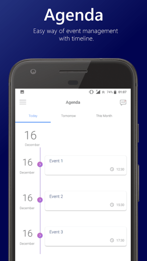 Android School Hub - Timetable, Subjects, Agenda, Notes Screen 1