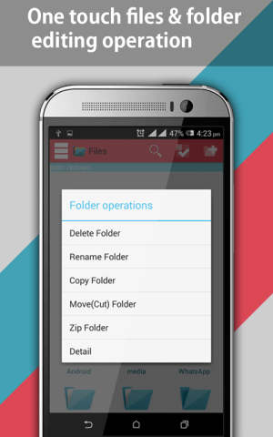 Android File Explorer and File Manager Screen 12