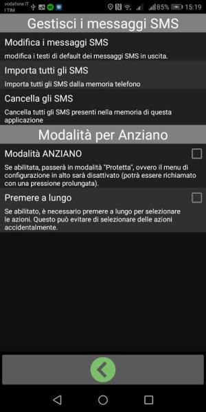BIG, EASY SMS for senior 2.00.3 Screen 2